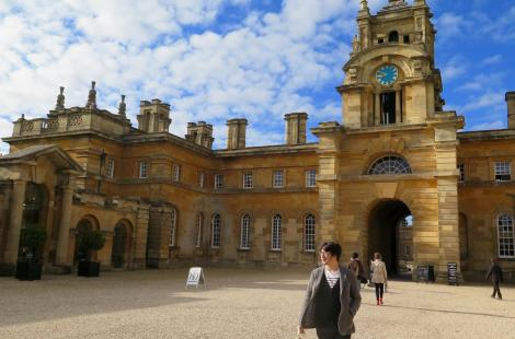 Blenheim Palace, où naquit Churchill